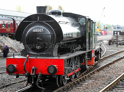 Flying Scotsman visit to Boness - 16th May 2016