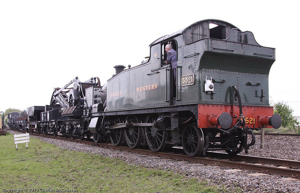 Didcot Railway Centre -   175 years of GWR Celebrations 7th May 2010