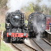 """USA S160 No. 5820 """"Big Jim running in BR Black livery as 95820"""