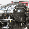 """USA S160 No. 5820 """"Big Jim running in BR Black livery as 95820 with a very unlikely  65J - Fort William shed plate"""