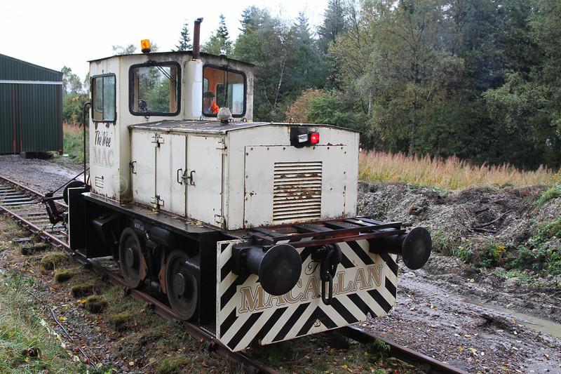 """Diesel shunter """"The Wee Mac"""""""