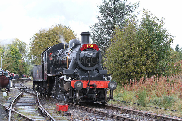 Keith and Dufftown Railway - Steam gala - 13th October 2012