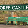 Corfe Castle Station nameboard