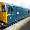 20 020 on loan from Bo'ness Railway on return working to Leeming Bar
