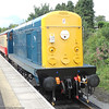 20 020 on loan from Bo'ness Railway on return working to Leeming Bar