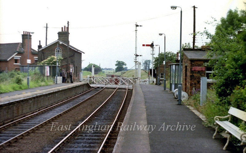 Westerfield facing south west 17th June 1979.