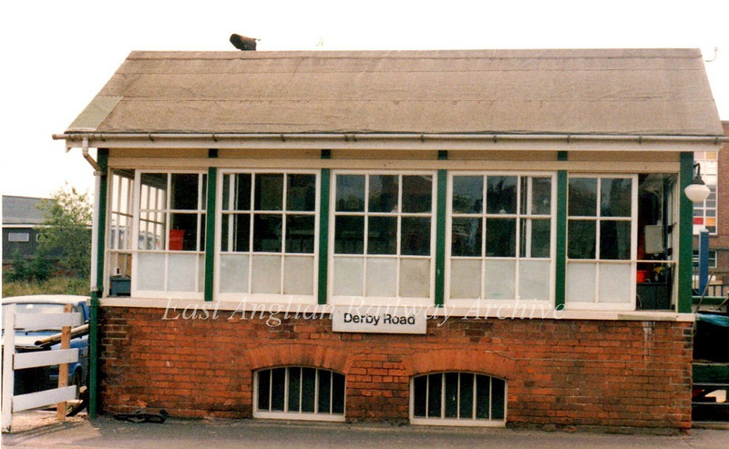 Derby Road Signal Box c1995.