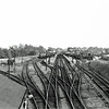 Felixstowe Town viewed from Garrison Lane Bridge. Rather a contrast to the previous shot. c1958.