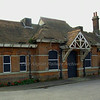 Trimley station building in danger of collapse or being demolished.  21st October 2009. Hopefully restoration is in site!