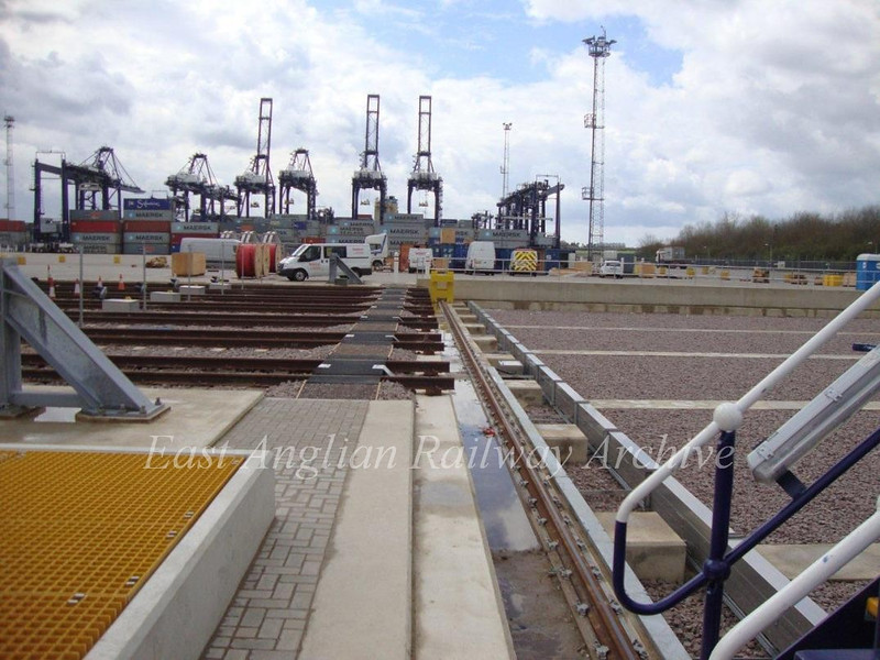 Felixstowe North Container Terminal.