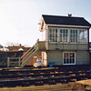 Oulton Broad Swing Bridge Signal Box with mile post 116.  Photo Adrian Bond,