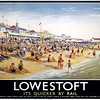 LNER  Lowestoft travel poster.