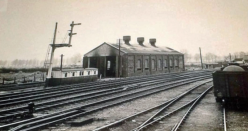 Beccles Engine Shed. This was demolished in 2006.