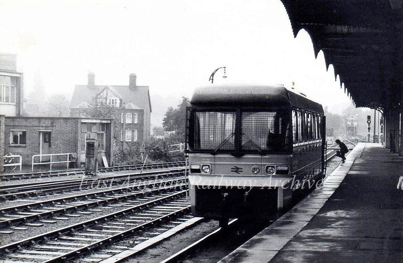 Another view of the trial LEV at Ipswich. October 1980.