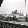 Beccles c1957. A Waveney Valley line working waits to depart. The long demolished maltings are in the background.