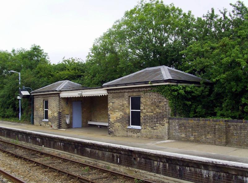 Darsham up platform.  15th June 2009.