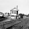A nice shot of Oulton Broad South Junction, with a freight coming off the line from Lowestoft South Side. The line to Lowestoft South Side closed in 1970. The signal box was abolished on 20th February 1973. Photographer unknown.