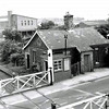 Victoria Road crossing keepers cottage viewed from the footbridge. Photo:- Bernie Ward.
