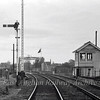 Oulton Broad Swing Bridge Signal Box, controlled the swing bridge and the signals at Oulton Broad South Station.  31st October 1976