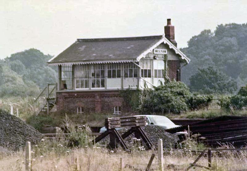 Melton Signal Box. Image :-with  kind permission of David Underwood.