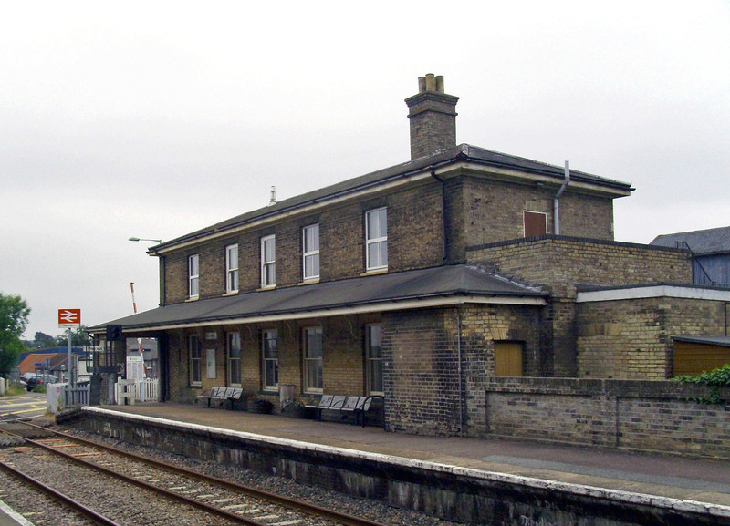 East Suffolk Railway architecture at Darsham 15th June 2009