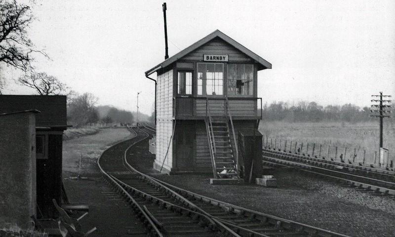 Barnby Signal Box.