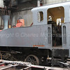 Steam locomotive No. 1, built in the mid 1930s by Berlin-based Orenstein and Koppel for the Irish Sugar Company.  Under restoration at the Railway Preservation Society of Ireland's workshops at Whitehead for the Downpatrick & County Down Railway.