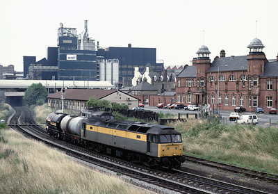 47 372 brings 2 tanks under Bank Quay  2/7/92