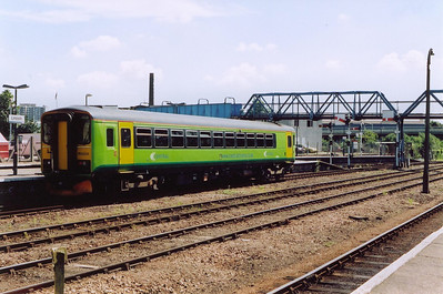 Once the station work is complete, the unit moves clear of the platform. It utilises a turnback siding just beyond the station before running back in to form another working.