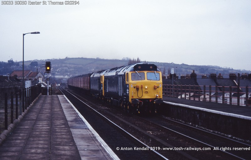 50033 50050 Exeter St Thomas 020294