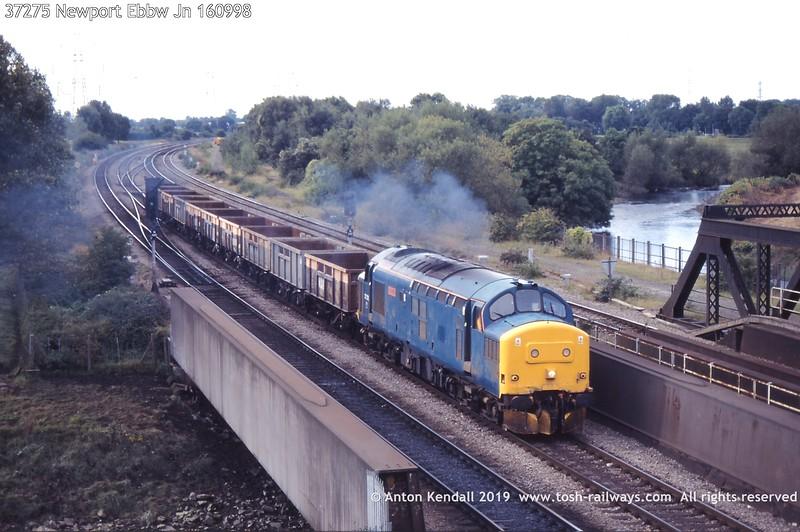 37275 Newport Ebbw Jn 160998