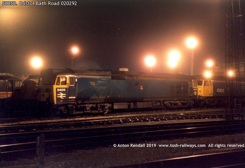 50050. Bristol Bath Road 020292