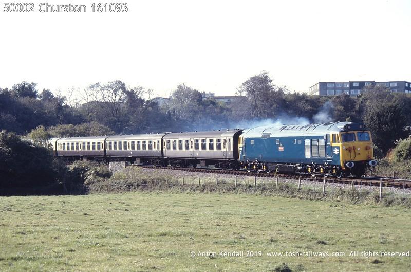 50002 Churston 161093