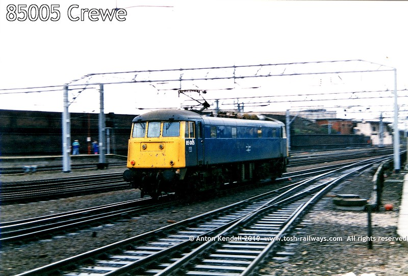 85005 Crewe