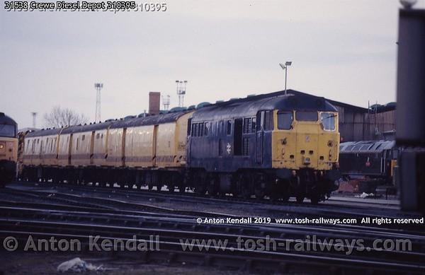 31538 Crewe Diesel Depot 310395
