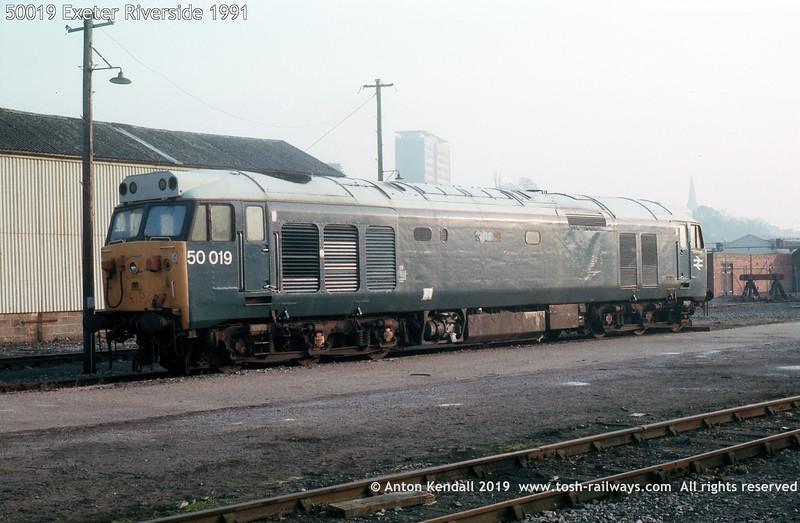 50019 Exeter Riverside 1991
