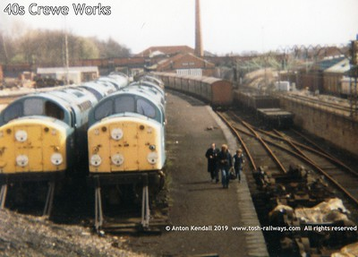 40s Crewe Works