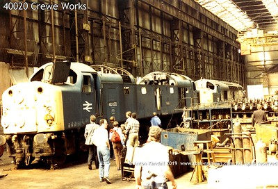 40020 Crewe Works