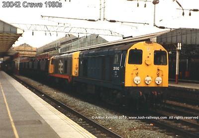 20042 Crewe 1980s