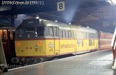 31116 Crewe 261193