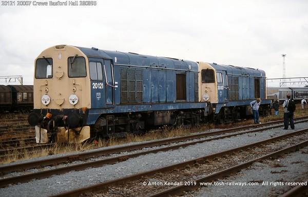 20121 20007 Crewe Basford Hall 280895