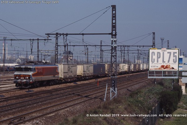 6558 Villeneuve St Georges Triage 0499