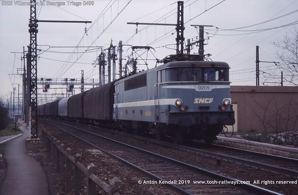 9205 Villeneuve St Georges Triage 0499