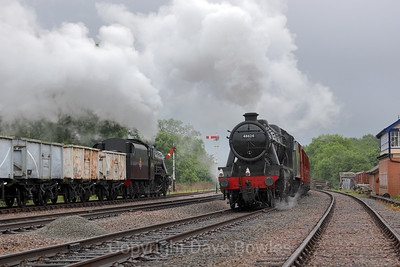 26th June 2019. 2 x 8F's on the GCR