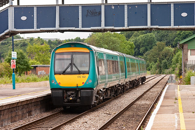 170102 forms 1V14 0900 Nottingham to Cardiff which is not booked to stop at Chepstow.