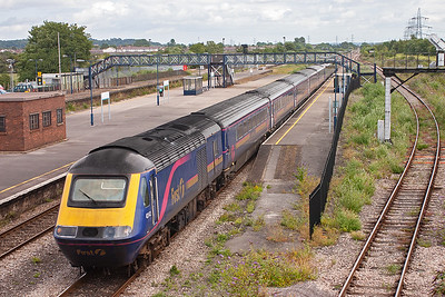 43142 leads 1B31 1215 Paddington to Cardiff First Great Western service. It would have come through the Severn Tunnel.