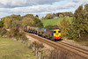 20305 and 20303 continuing their stint on the Yorkshire RHTT - 3S14  Grimsby- Bridlington climbs through Crigglestone on 26 October 2018