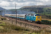 "55009 sweeps up Shap at Scout Green with the2retro Deltic Scot III"" railtour from Huddersfield to Edinburgh 25 August 2018"
