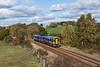 158816 at Crigglestone -1Y19 1304 Leeds Nottingham via Barnsley and Sheffield  26 October 2018