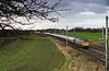 66755 passing Golborne Jct - 6M90 Avonmouth-Clithero cement empties  8th December 2018